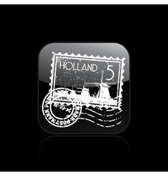 holland icon vector image