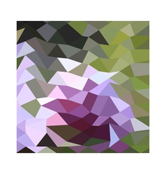 Pale lavender abstract low polygon background vector