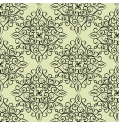 Classic style circular pattern vector image