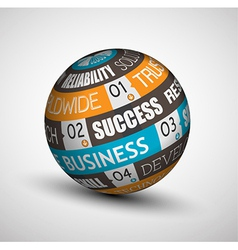 Sphere businessb vector