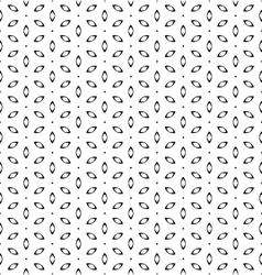 Vintage simple seamless black and white flower vector