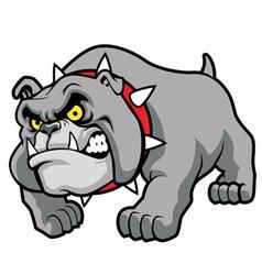 Classic bulldog pose vector