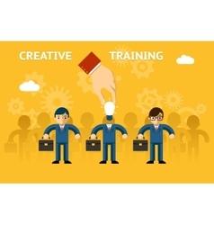 Creative training vector