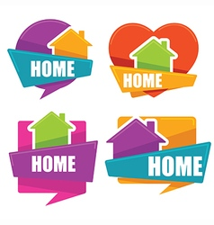 my home vector image
