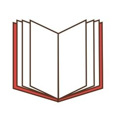 Open book read vector