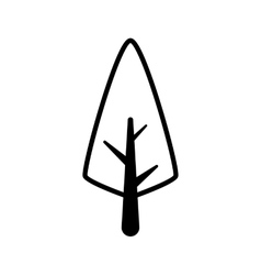 Tree icon nature design graphic vector