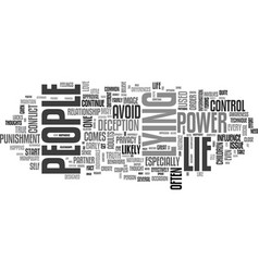 Why people lie text word cloud concept vector