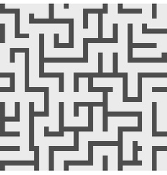Seamless background maze vector