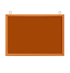 bulletin board realistic vector image