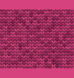 Light and dark pink knit seamless pattern eps 10 vector