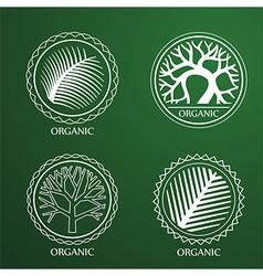 tree label2 vector image