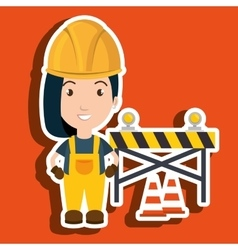 Worker warning security tool vector