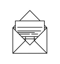 Envelope icon image vector