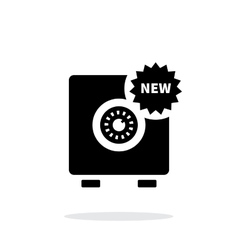 New strongbox icon on white background vector