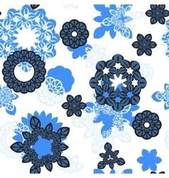 Mandala ornament seamless pattern vector