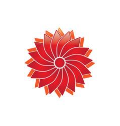 Blossom logo vector