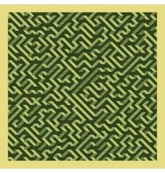 Maze Of Labyrinth vector image vector image