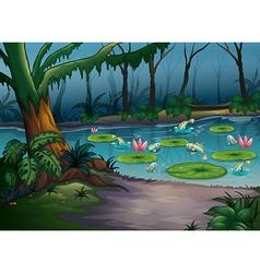Pond vector