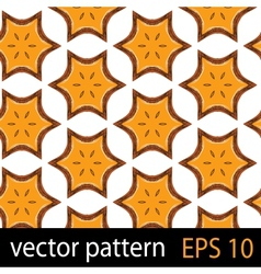 Floral fruit pattern vector image