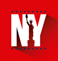 New york city related image vector
