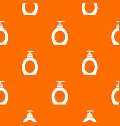 Liquid soap pattern seamless vector