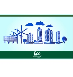 Environmental city vector