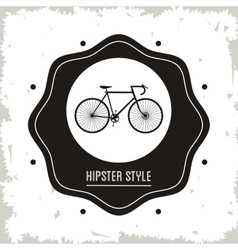Cycle icon hipster style design graphic vector