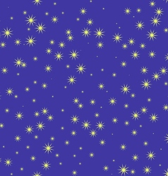stars and sky at night seamless pattern vector image vector image