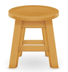 stool 01 vector image