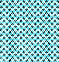 Retro blue seamless pattern vector