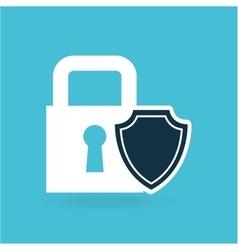 Insurance protection security money bill dollar vector