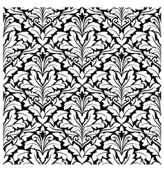 royal damask seamless pattern vector image vector image