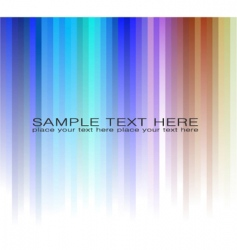 rainbow business card for flyers vector image