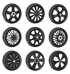 Automotive wheel vector