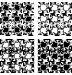Design seamless monochrome pattern vector