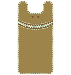 Case for mobile phone monster vector