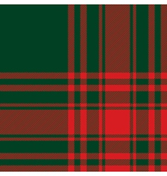 Menzies tartan green red kilt fabric texture vector