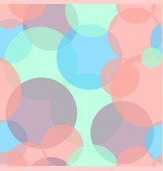 abstract seamless pattern with colorful circles vector image vector image
