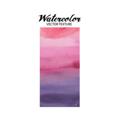 abstract watercolor texture vector image