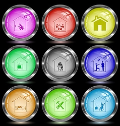 home toilet home celebration home tv family home vector image vector image
