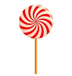 Hypnotizing lollipop vector