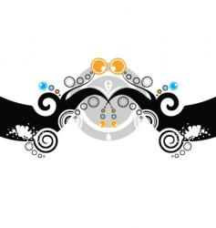 tattoo abstract vector image vector image