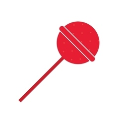 candy lollipop icon vector image