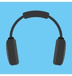 Headphone gadget device design vector