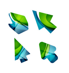 Icon arrow mouse pointer or directional vector
