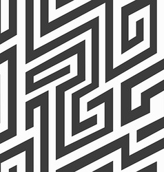 Monochrome spiral seamless pattern vector