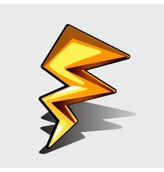 Lightning bolt for games and other design needs vector