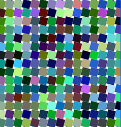 Colorful angular square pattern design background vector