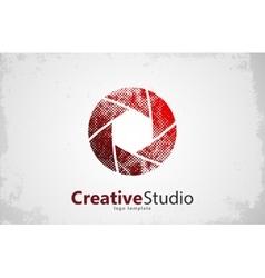 Creative studio logo design Camera logo Creative vector image vector image