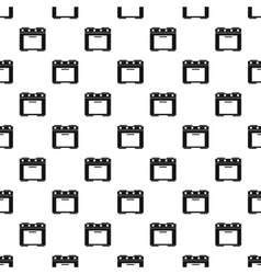 Electric cooker pattern simple style vector image